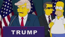 donald trump in the simpsons predicted in the media